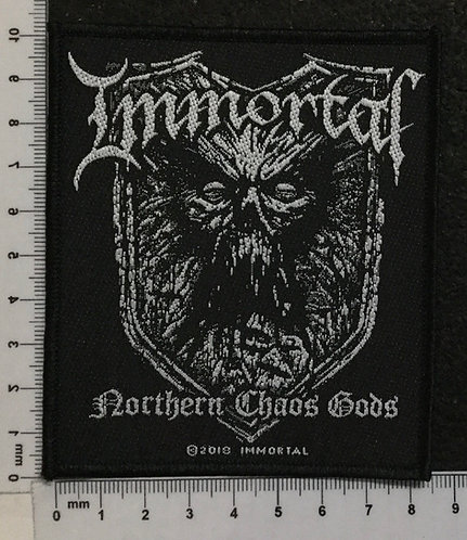 IMMORTAL - NORTHERN CHAOS GODS WOVEN PATCH