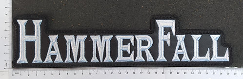 HAMMERFALL - LOGO EMBROIDERED BACKPATCH