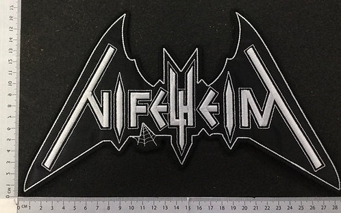NIFELHEIM - LOGO EMBROIDERED BACK PATCH