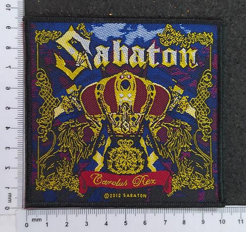 SABATON - CAROLUS REX WOVEN PATCH