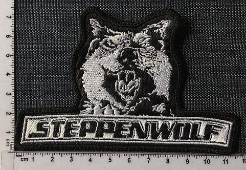 STEPPEN WOLF - WOLF EMBROIDERED PATCH