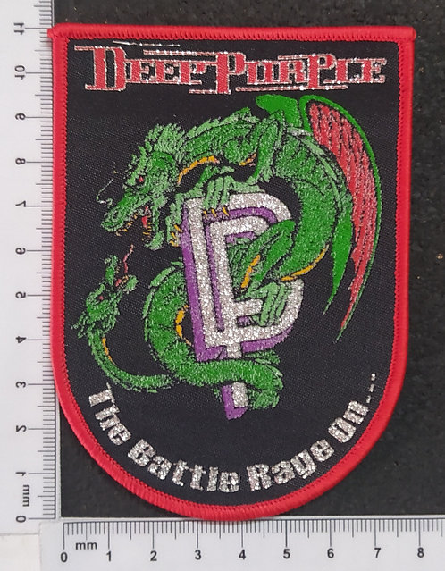 DEEP PURPLE - THE BATTLE RAGE ON... WOVEN PATCH