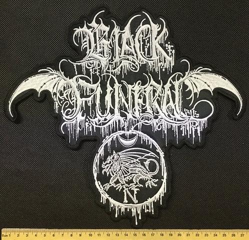 BLACK FUNERAL - WHITE LOGO