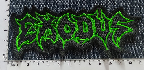 EXODUS - LOGO OUTLINE EMBROIDERED PATCH
