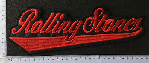 ROLLING STONES - LOGO EMBROIDERED BACK PATCH