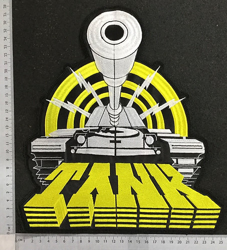 TANK - TANK EMBROIDERED BACK PATCH