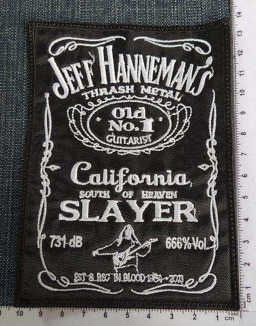 HANNEMAN´S JEFF- OLD NO. 1 EMBROIDERED PATCH