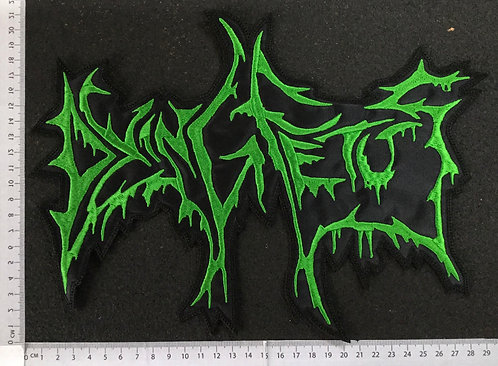 DYING FETUS - LOGO EMBROIDERED BACK PATCH