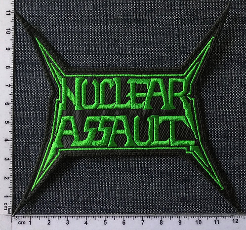 NUCLEAR ASSAULT - LOGO EMBROIDERED PATCH