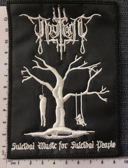 THY LIGHT - SUICIDAL MUSIC... EMBROIDERED PATCH