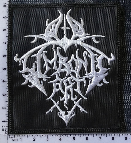 LIMBONIC ART - LOGO SHAPED EMBROIDERED PATCH