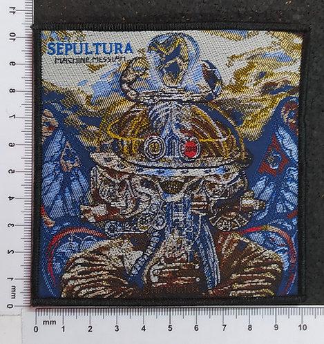 SEPULTURA - MACHINE MESSIAH WOVEN PATCH