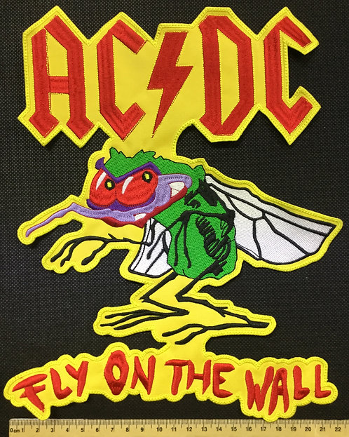 AC/DC - FLY ON THE WALL EMBROIDERED BACK PATCH