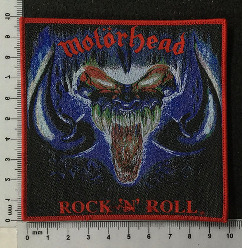 MOTORHEAD - ROCK 'N' ROLL WOVEN PATCH