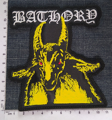 BATHORY - GOAT EMBROIDERED PATCH