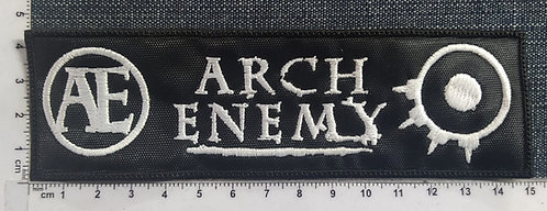 ARCH ENEMY - AE LOGO EMBROIDERED PATCH