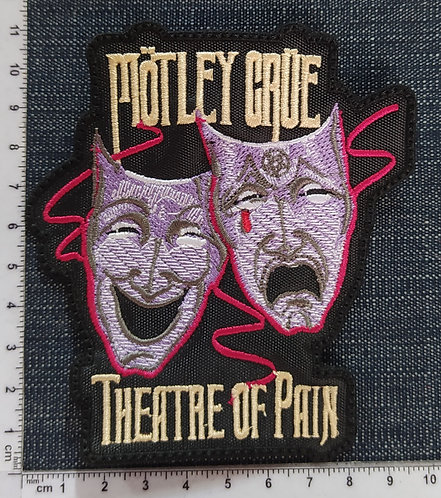 MÖTLEY CRÜE- THEATRE OF PAIN EMBROIDERED PATCH