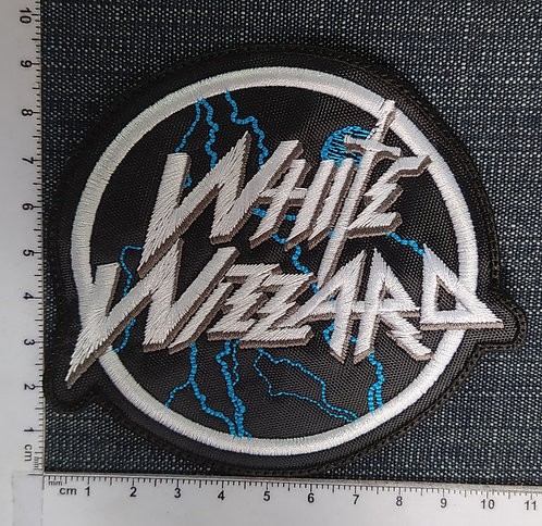 WHITE WIZARD - LOGO EMBROIDERED PATCH