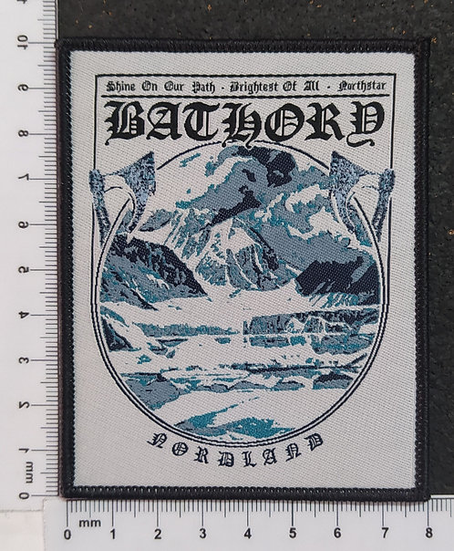 BATHORY - NORLAND WOVEN PATCH