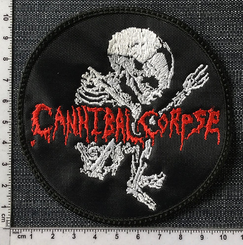 CANNIBAL CORPSE - FETUS CIRCLE LOGO EMBROIDERED PATCH