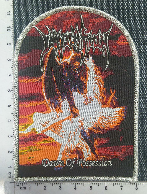 IMMOLATION - DAWN OF POSSESION (ARC SHAPED) WOVEN PATCH