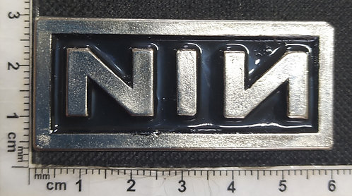 NINE INCH NAILS - NIN LOGO Metal Pin