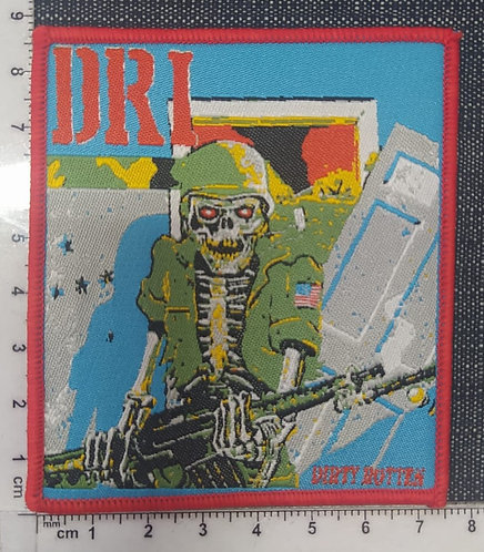 D.R.I - DIRTY ROTTEN WOVEN PATCH