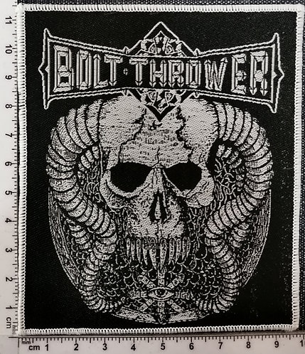 BOLT THROWER Who Dares Wins  Woven Patch