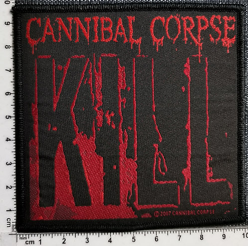 CANNIBAL CORPSE - Kill Woven Patch