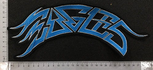 EAGLES -  LOGO EMBROIDERED BACK PATCH