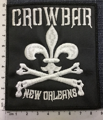 CROWBAR - NEW ORLEANS EMBROIDERED PATCH