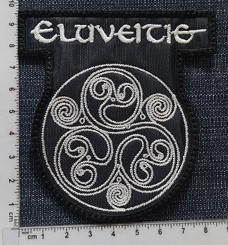 ELUVEITIE - LOGO EMBROIDERED PATCH