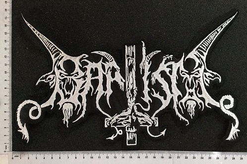 BAPTISM - LOGO EMBROIDERED BACK PATCH