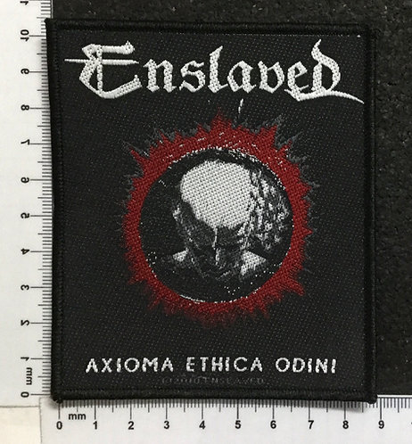 ENSLAVED - AXIOMA ETHICA ODINI WOVEN PATCH