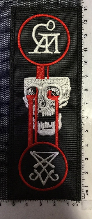 GOATWHORE - BLOOD FOR... LOGO EMBROIDERED PATCH