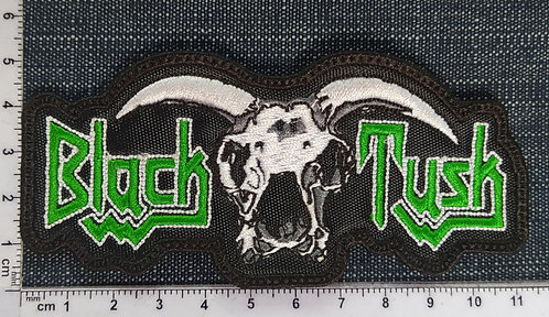 BLACK TUSK - LOGO EMBROIDERED PATCH