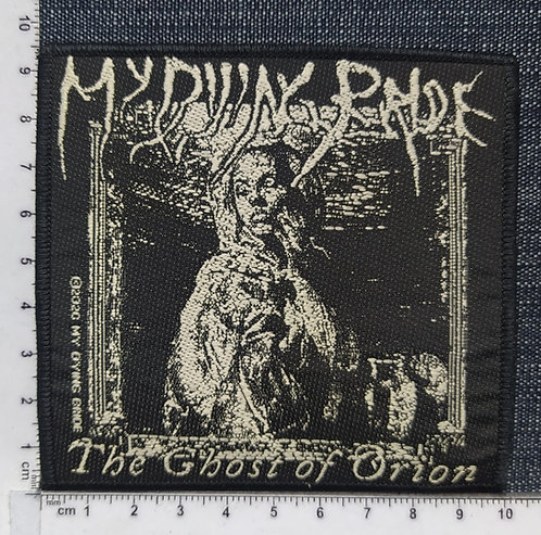 DYING BRIDE - THE GHOST OF ORION WOVEN PATCH