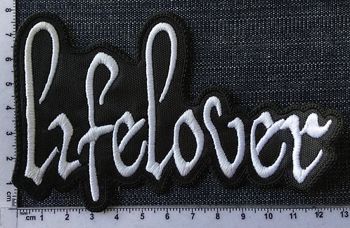 LIFE LOVER - LOGO SHAPE EMBROIDERED PATCH
