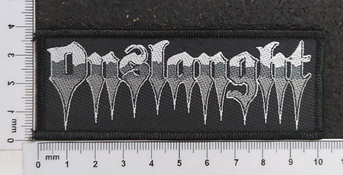 ONSLAUGHT - STRIP LOGO WOVEN PATCH