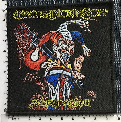 BRUCE DICKINSON - Accident Birth Woven Patch