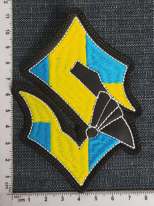 SABATON - SYMBOL EMBROIDERED PATCH