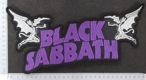 BLACK SABBATH - LOGO ANGELS BACK PATCH