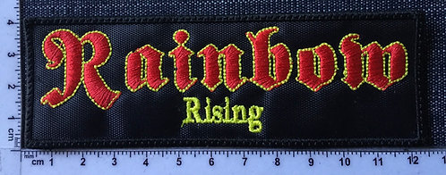 RAINBOW - RISING EMBROIDERED PATCH
