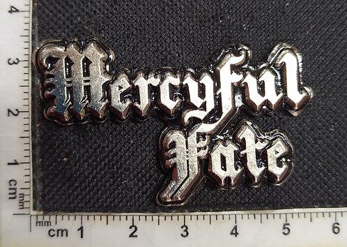 MERCYFUL FATE - LOGO 3D Metal Pin