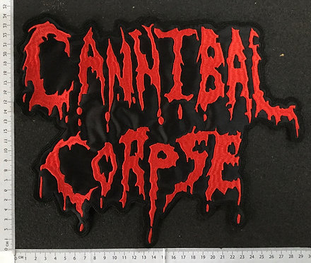 CANNIBAL CORPSE - LOGO EMBROIDERED BACK PATCH