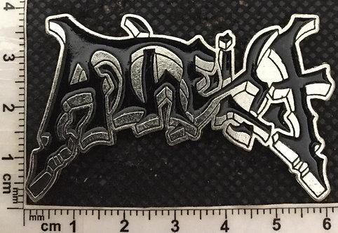 ATHEIST Logo Metal Pin