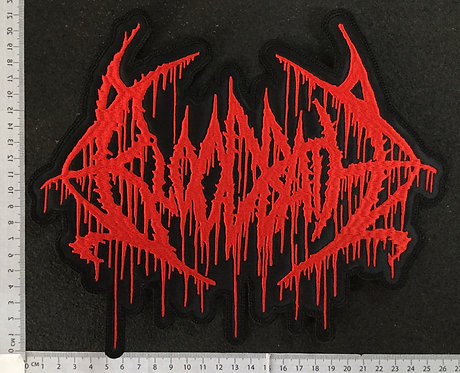 BLOODBATH - LOGO EMBROIDERED BACK PATCH