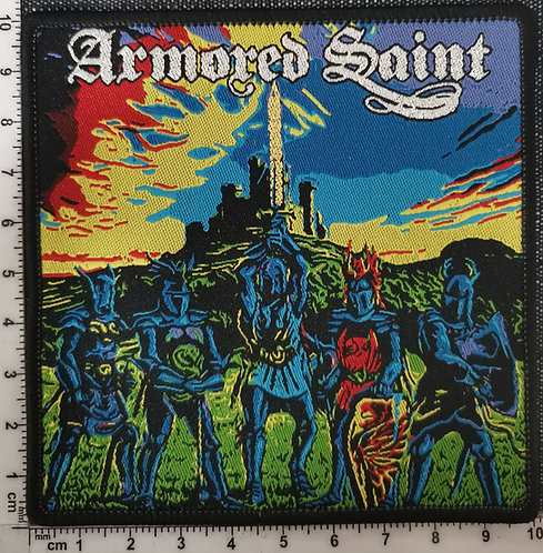 ARMORED SAINT - March of Saints Woven Patch