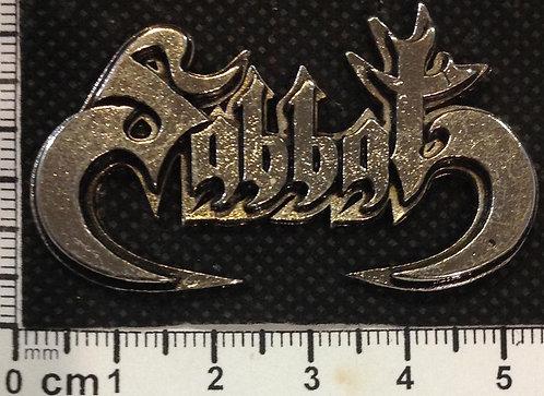 SABBAT - LOGO JAP  Metal Pin