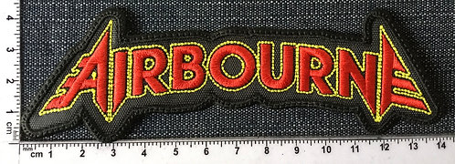 AIRBOURNE - LOGO SHAPED EMBROIDERED PATCH